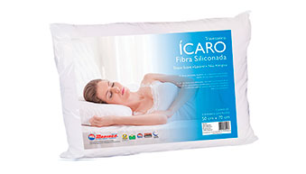 Travesseiro Ícaro - Fibra Siliconada