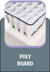 Colchão produzido com borda em espuma selada de alta densidade, para uma maior firmeza nas bordas do colchão, aumentando sua vida útil